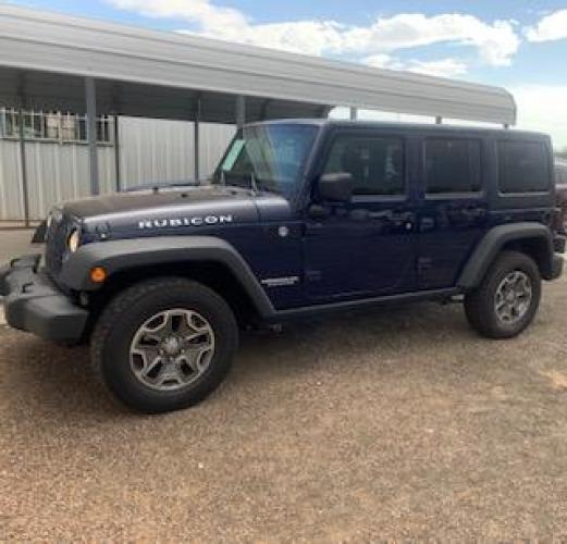 2013 Jeep Wrangler Unlimited Rubicon 4WD (1C4BJWFG5DL) with an 3.6L V6 DOHC 24V FFV engine, located at 821 N. Prince Street, Clovis, NM, 88101, (575) 762-8852, 34.406643, -103.195999 - Photo #0